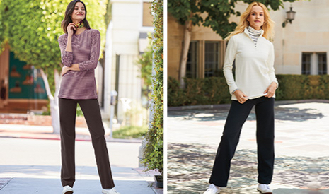 Womens Jersey Trousers